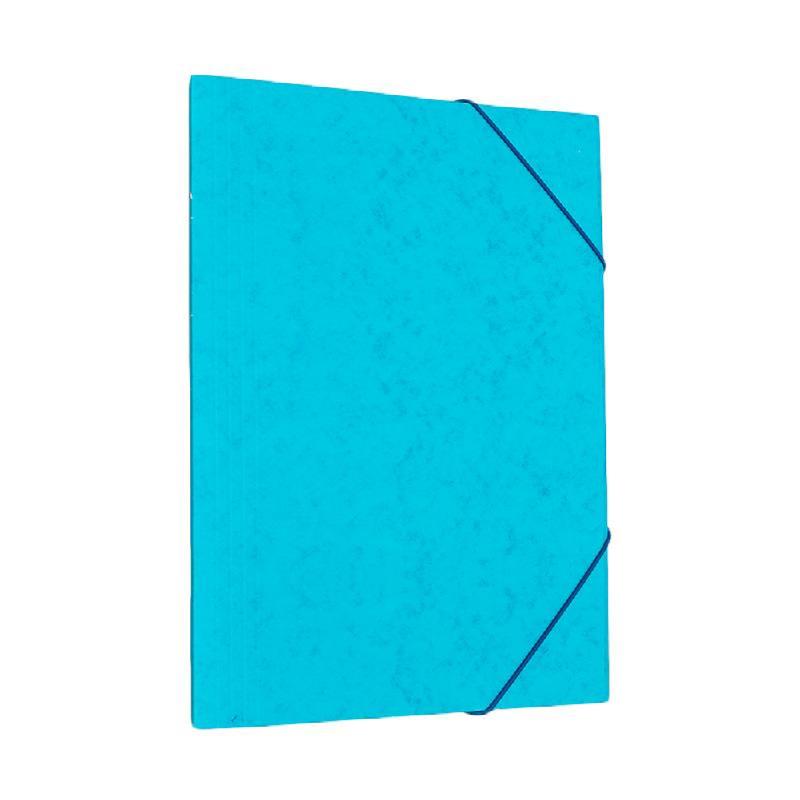 Bantex Cardboard Document File A4 Cobalt Blue -3450 11