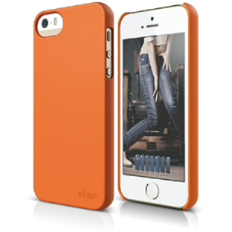 Elago Slimfit 2 Case for iPhone SE, 5, 5S - SF Orange