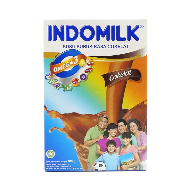 Indomilk Susu Bubuk Choco  400 Gr