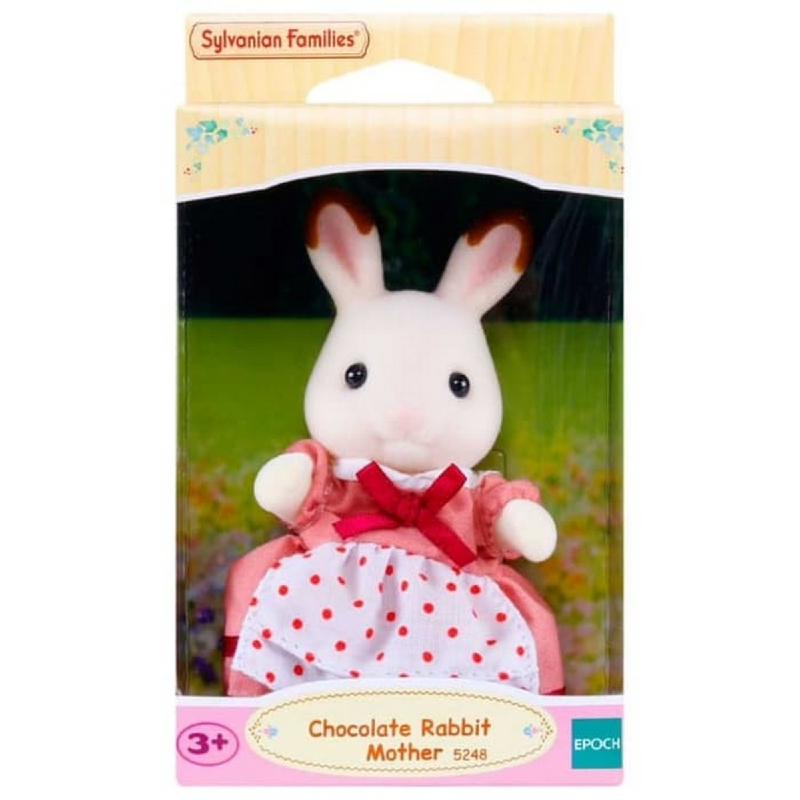 Sylvanian Families Chocolate Rabbit Mother ESFI52480