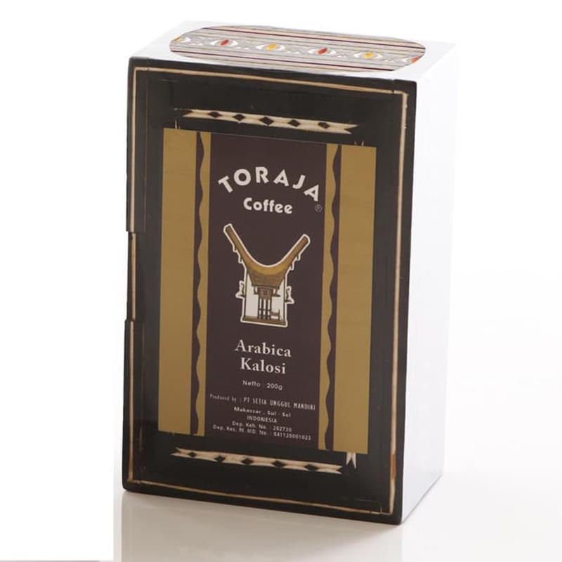 Toraja Arabica Kolasi Kotak 200 Gr