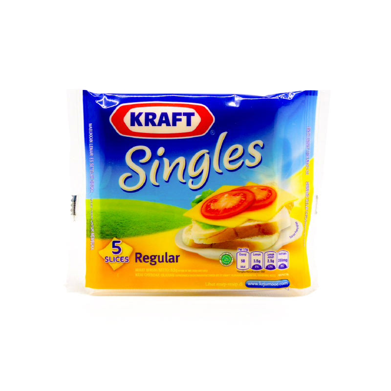 Kraft Single Slice 5s 83g