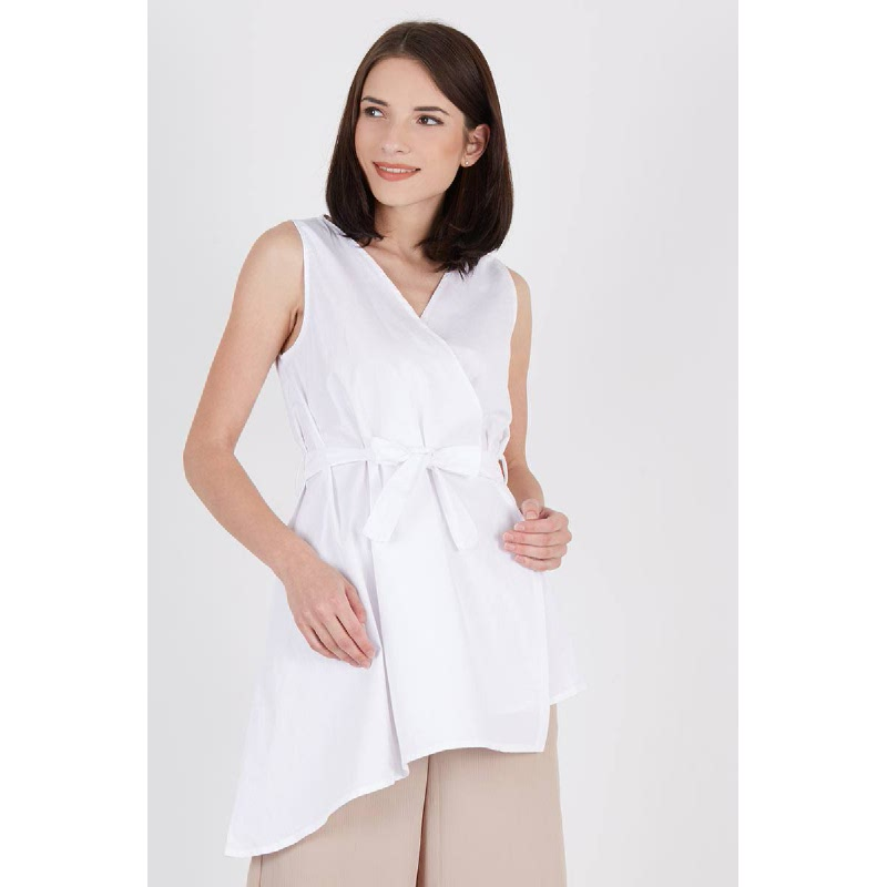 Sveva Bow Top White