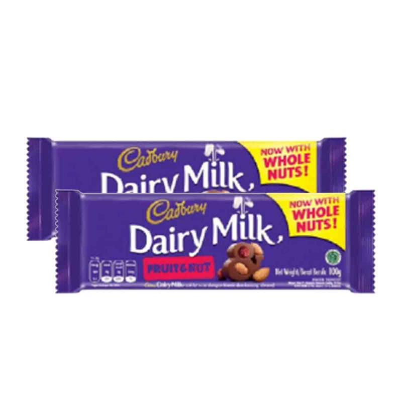 Cadbury Fruit & Nut (Whole Nut) 100G (Get 2)