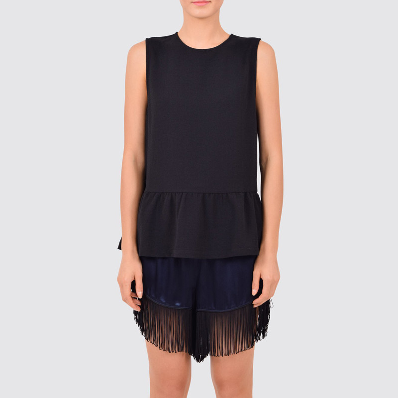 Clark sleeveless top black