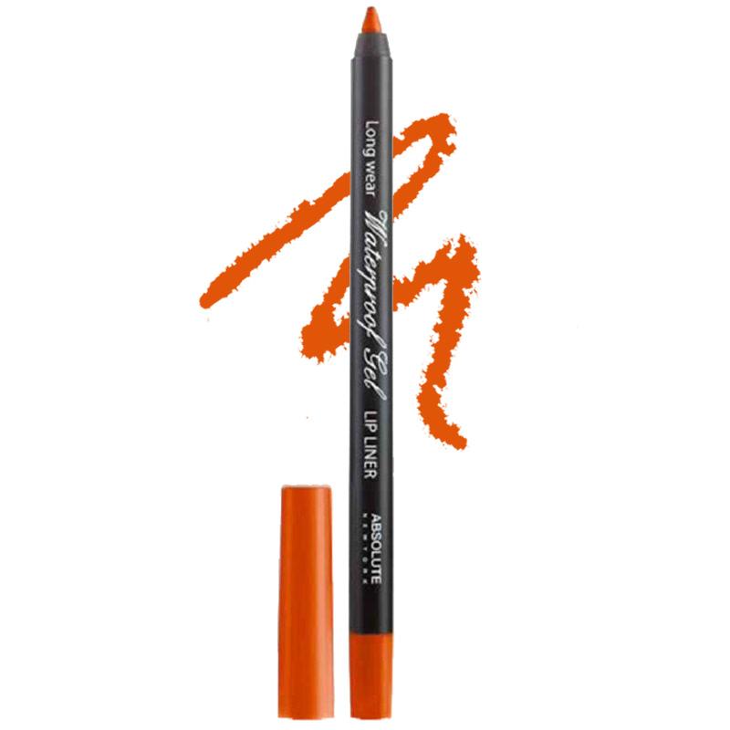 Absolute New York Long Wear Waterproof Gel Lip Liner Orange
