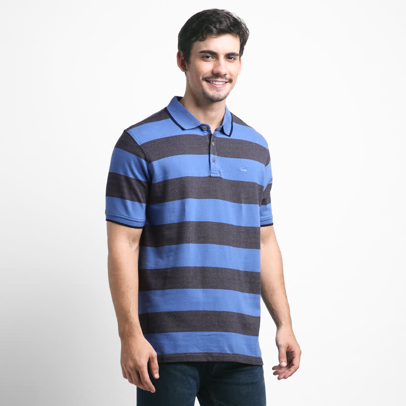 Blue  Polo Shirt  280SS17025917