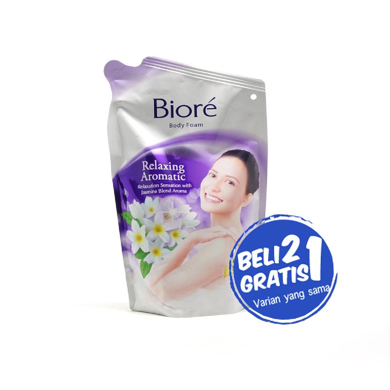 Biore Body Foam Relax Aromatic 450Ml (Buy 2 Get 1)
