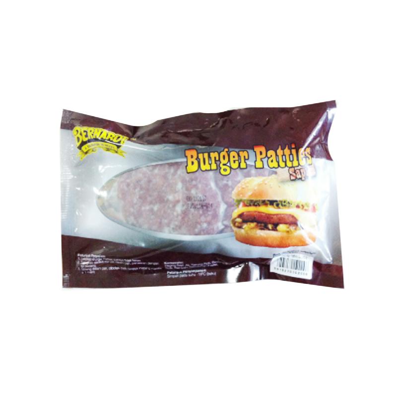 Bernardi Burger Patties Sapi 270 Gr isi 6 Pcs