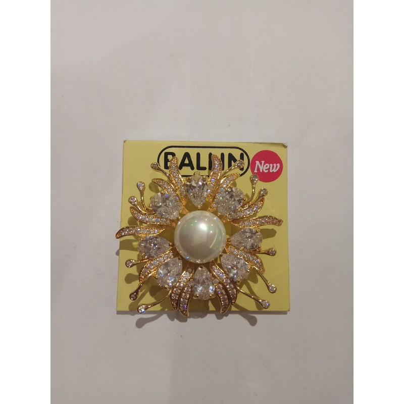 Ballin Women Brooch LF-BRX05523CG Gold
