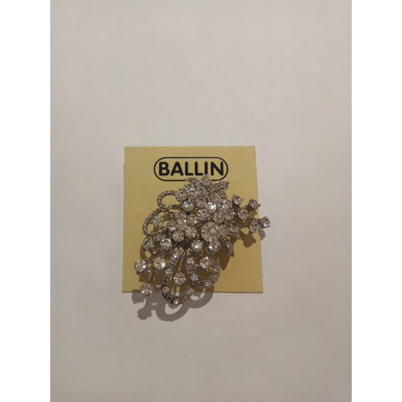 Ballin Women Brooch TM-BR50S Silver