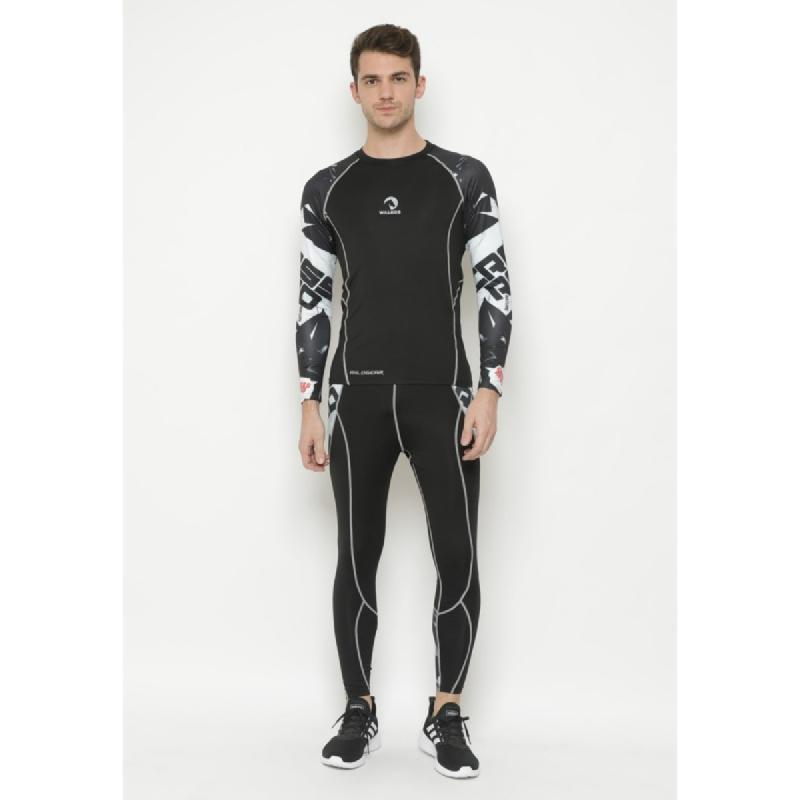 1 Set Baselayer Tight Pants Compression Waldos Swoosh Running Cycling
