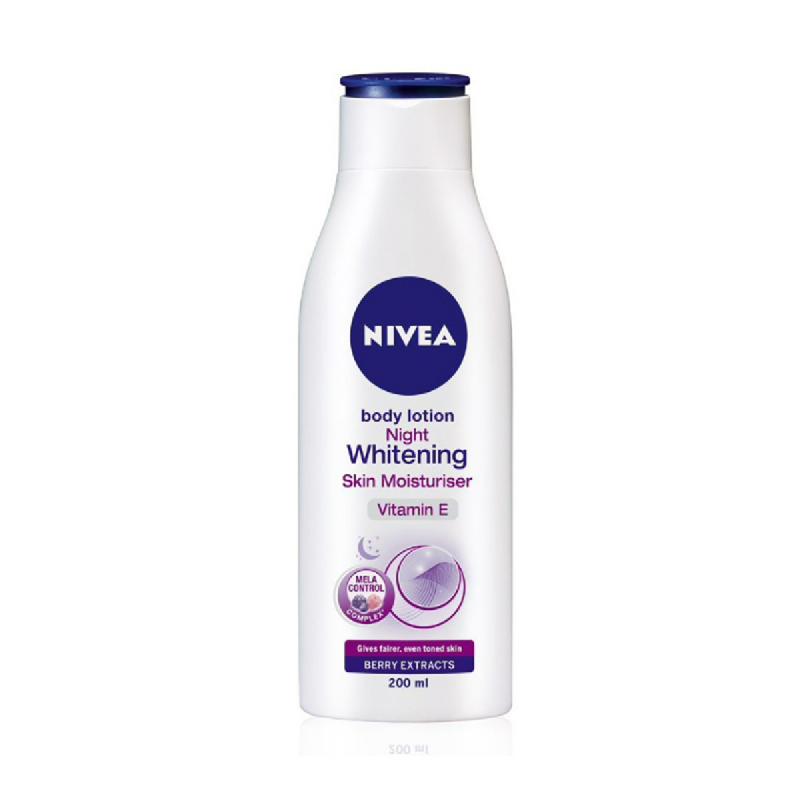 Nivea Body Night Whitening Lotion 100Ml