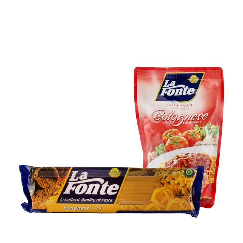 Paket Spaghetti Rp 27.000 (Dapat 2 Produk)