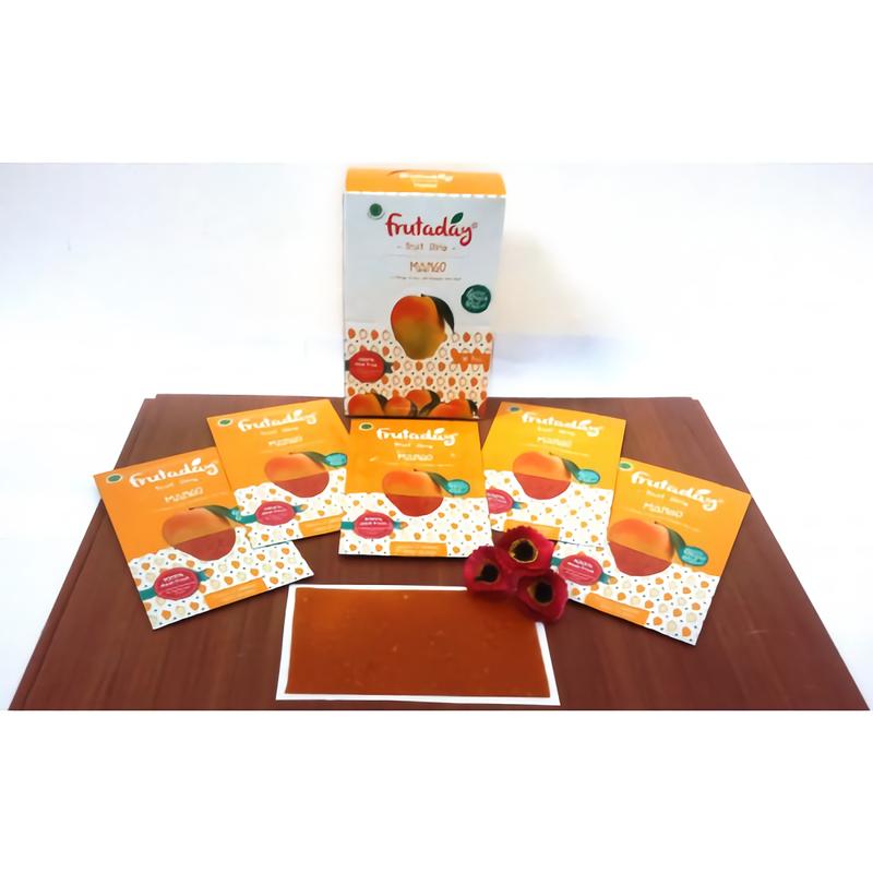 Fruitstrip Mango (isi 5 sheet)
