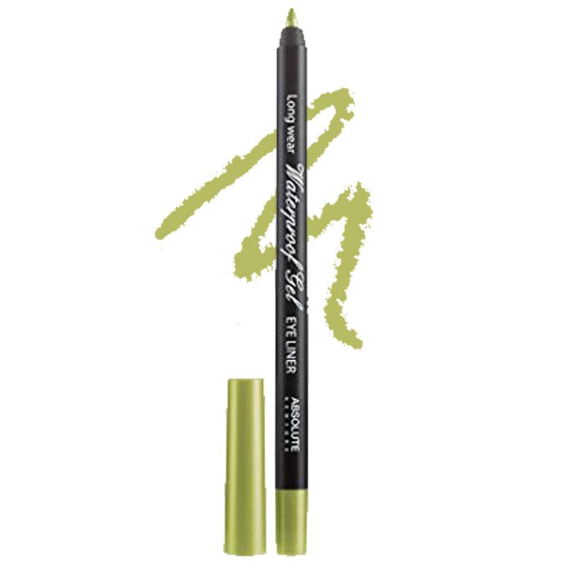 Absolute New York Long Wear Waterproof Gel Eye Liner Green