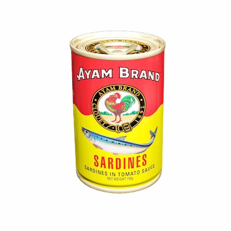 Ayam Brand Sardines Jitney 155 Gr