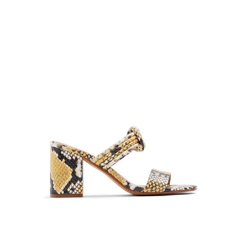 ALDO Ladies Heels AGRALICLYA-700 Yellow