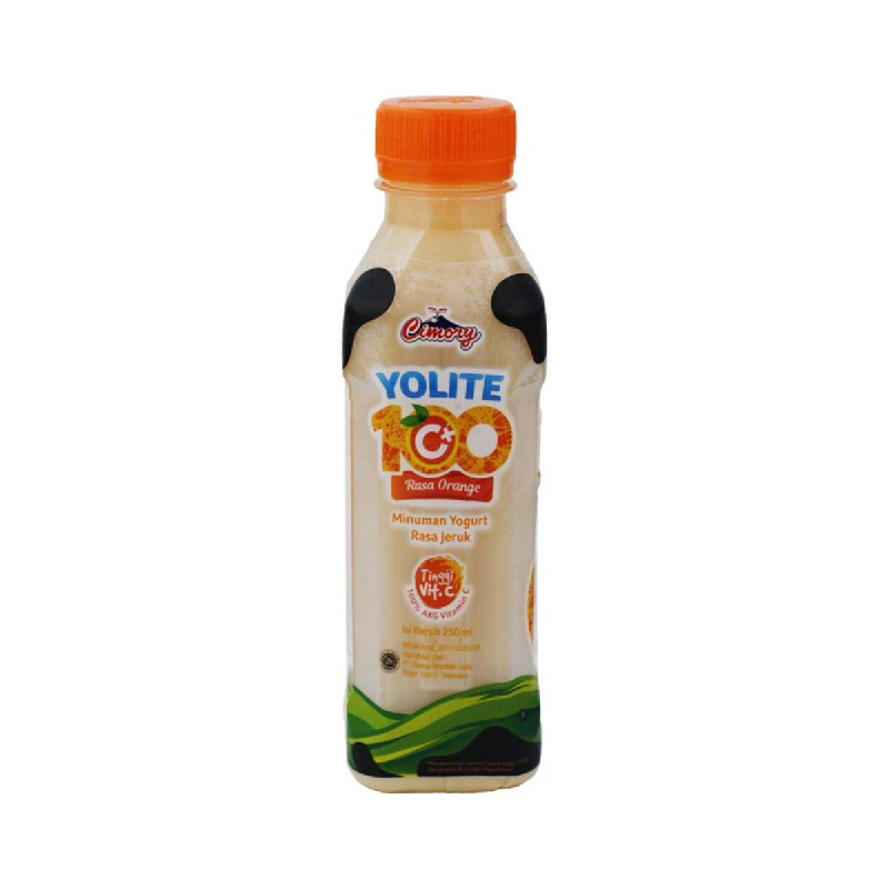 Cimory Yoghurt Drink Yolite C+100 Orange 250 Ml