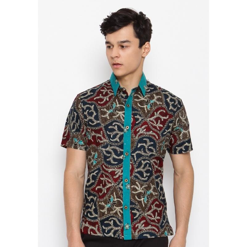 Batik Lengan Pendek HB-J-33321 Green