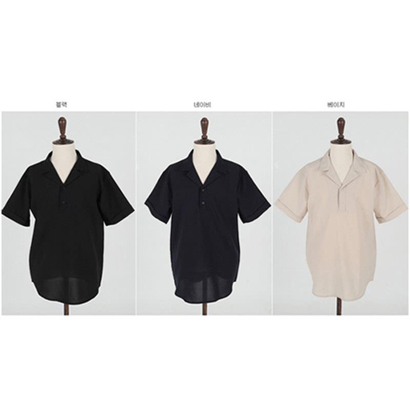 Marble Shirt - Black