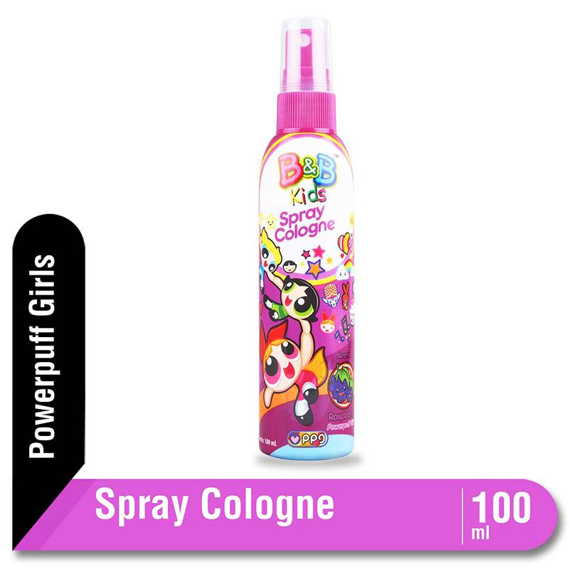 B&B Kids Spray Cologne Raspberry 100 Ml