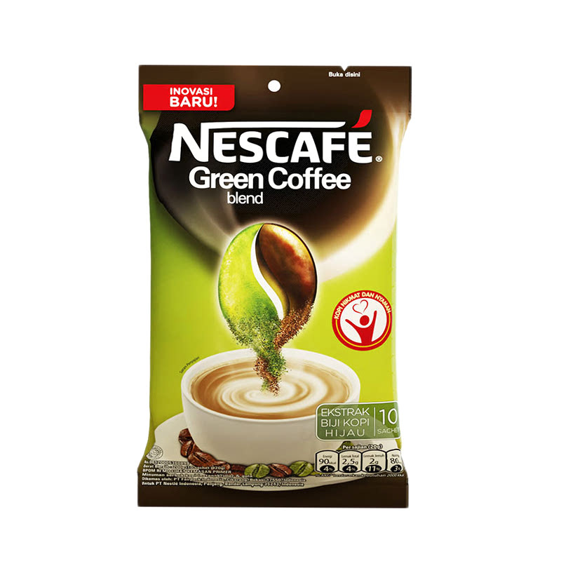 Nescafe Greend Blend 10x20gr