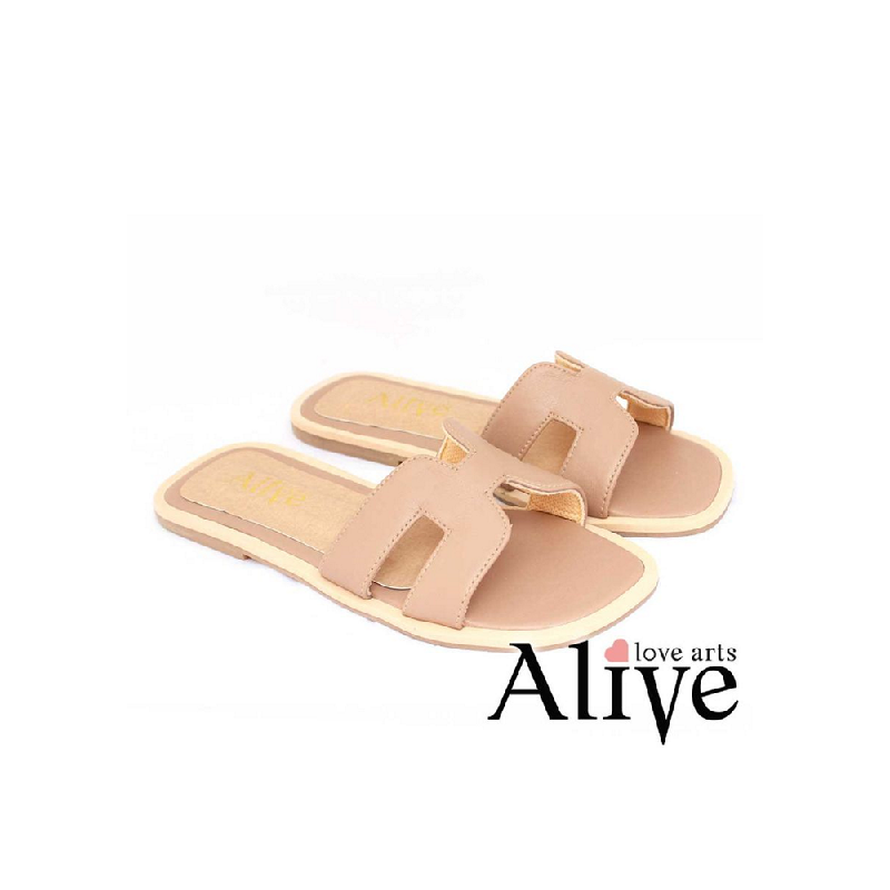 AliveLoveArts Hers Sandals Nude