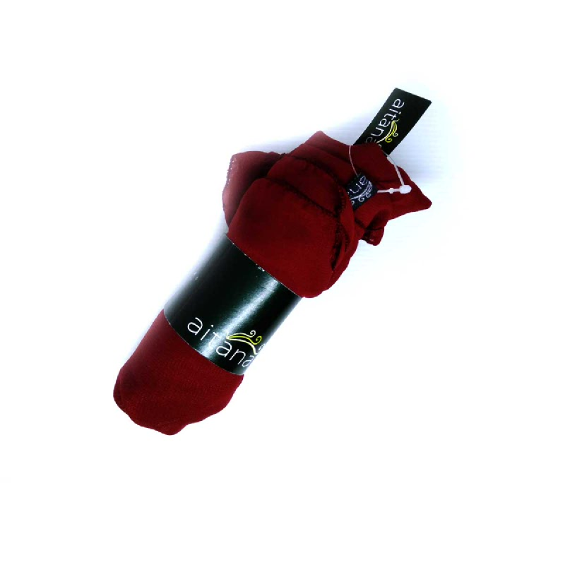 Ameera Pasmina Polos Merah 115 X 115 Cm