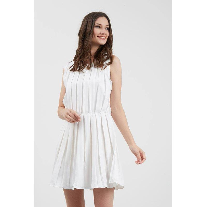 GW Greben Dress in White