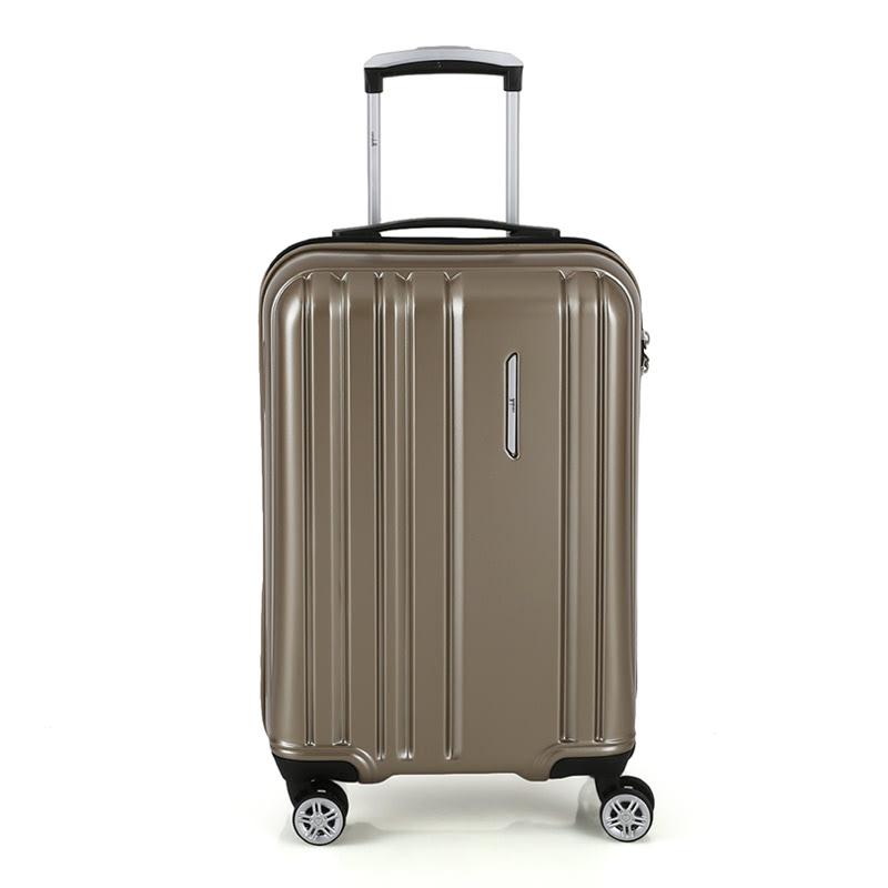 Condotti Cabin Hardcase Luggage Size 20 inch 4 Wheels TSA Lock - Gold