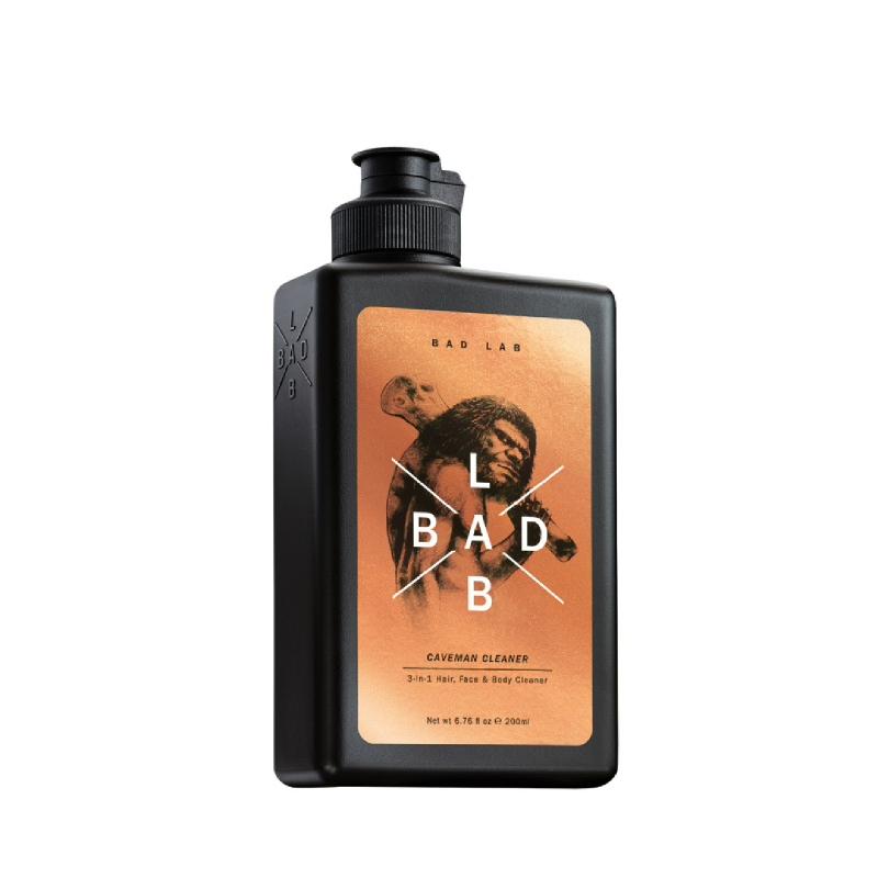 Bad Lab Caveman Cleaner 3-In-1 Hair, Face, Body Shampoo 200ml