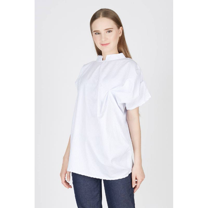 Petah Drape Top White