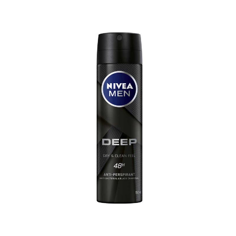 Nivea Men Deo Spray Deep Fresh 150 Ml