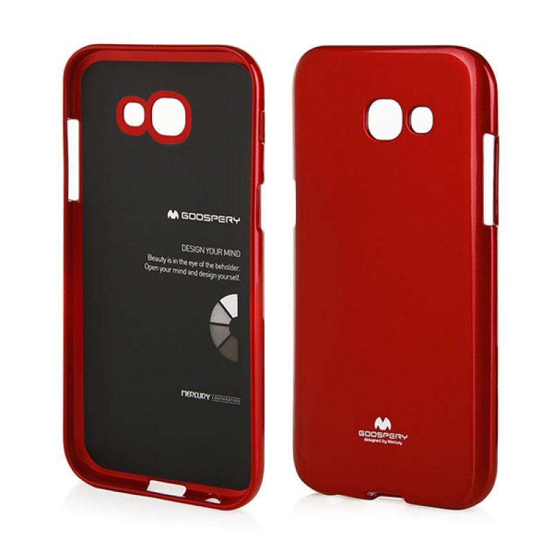 Goospery Jelly Case Samsung Galaxy A5 2017 - Merah
