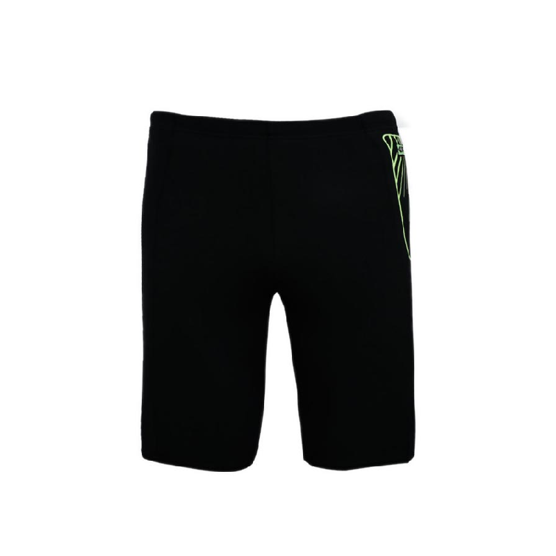 Speedo Contrast Pocket Aquashort Men Swimwear Black