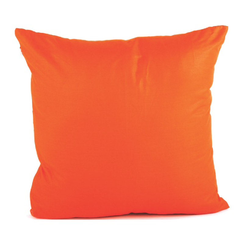 Deep Orange Bantal Sofa - Orange 40x40cm