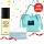 Mini Bundle Set 4 (Langsre Amittie Natural Oil to Foam Cleanser Mini 55ml + Langsre Aqua Hydrating Power Cream Mini 20g  Free Canvas Sling Bag)