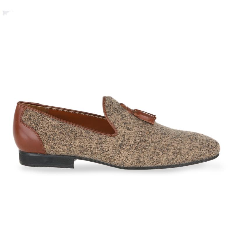 Ftale Vele  Sepatu Formal Pria - Brown
