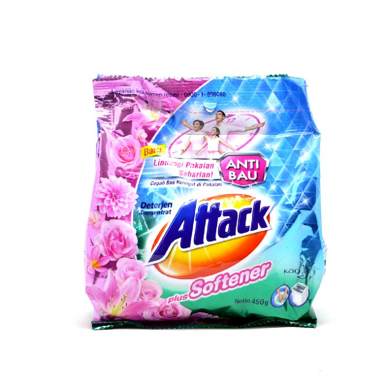 Attack Detergent Plus Softener 450 Gr