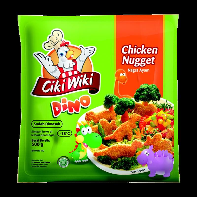 Ciki Wiki Chicken Nugget Dino 500Gr