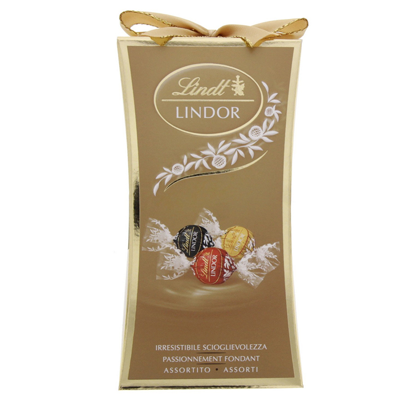 Lindt Lindor Assorted Pillar 75g