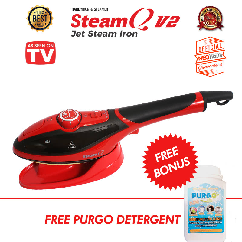 Steam Q V2 - Steam Jet Iron