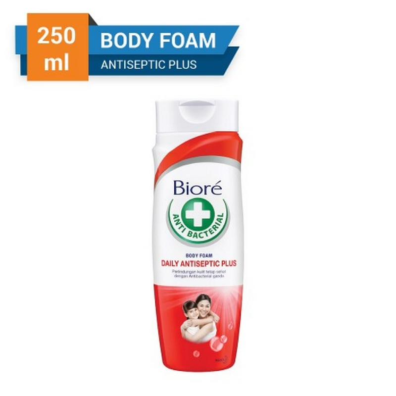 Biore Body Foam Daily Antiseptic Plus Bottle 250 ml