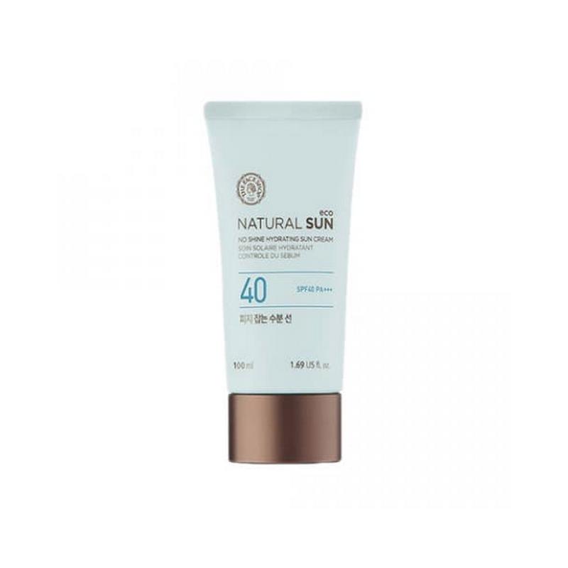 The Face Shop Natural Sun Eco No Shine Hydrating Sun Cream SPF40 PA+++ 100ml