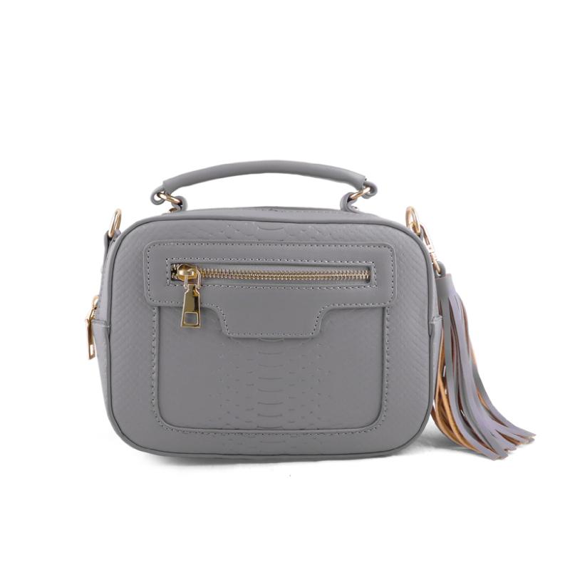 AliveLoveArts Isabel Hand-Sling Bags Grey