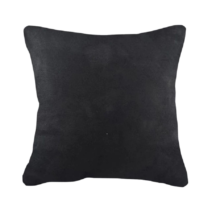 Sleep Buddy Suede Black Cushion 45x45cm