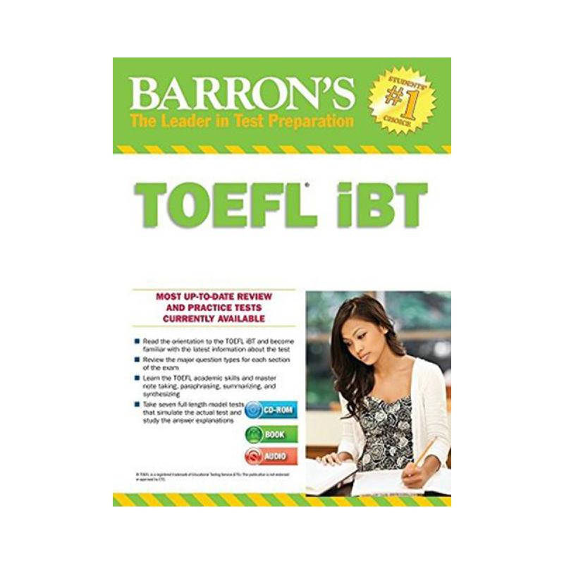 Barron'S Toefl Ibt With Mp3 Audio Cds