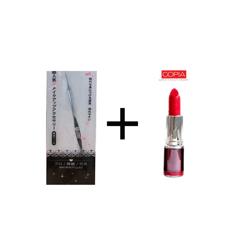 Beaute Recipe Acne Stick 1073-4 + Be Matte Lipstick Coral