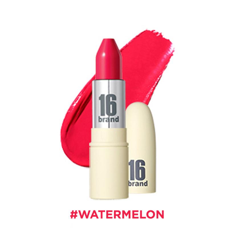 16brand RU Lipstick Glossy - Watermelon